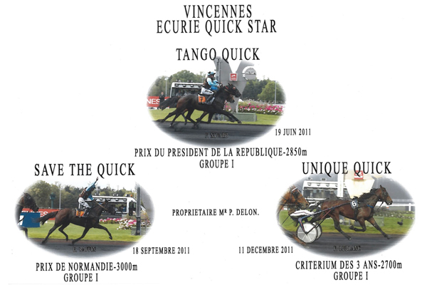 Écurie Quick Star - Groupe I