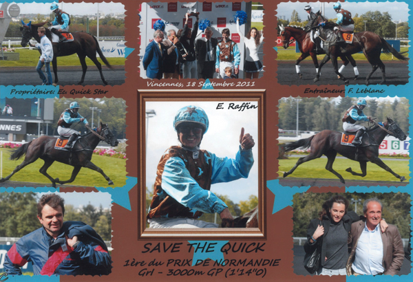Prix de Normandie - Save The Quick - Eric Raffin