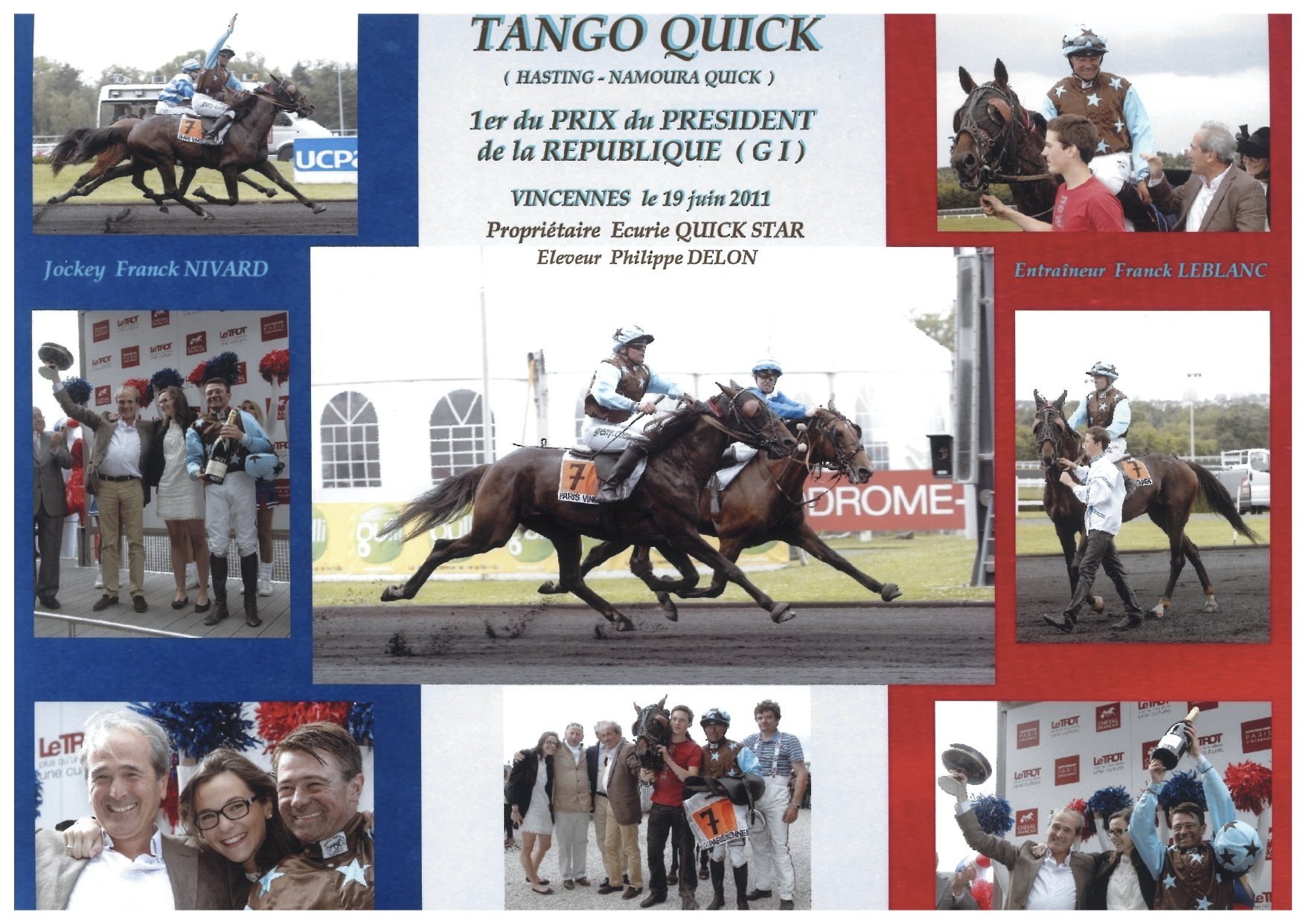Tango Quick - Prix du Président de la République